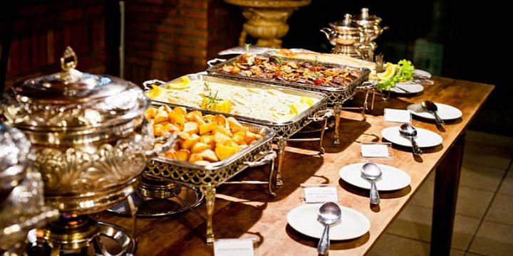 Diversas opções de alimentação para seu evento