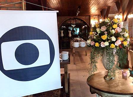 Almoço da Globo em homenagem ao dia da mídia no Pier 54