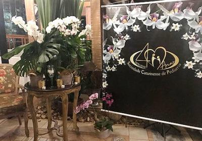 Jantar em comemoração aos 40 anos da Sociedade Catarinense de Pediatria