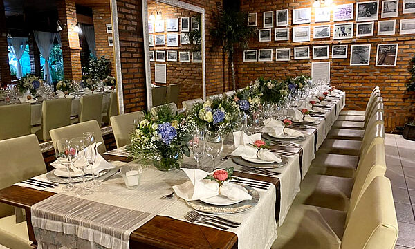 Jantar de casamento no Pier 54