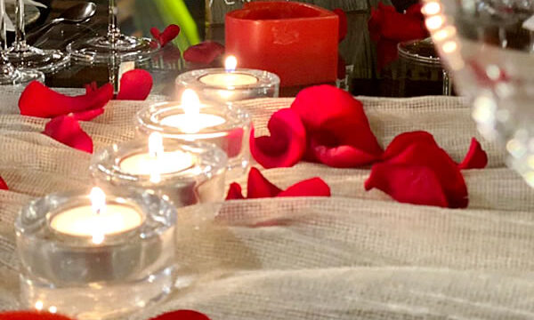 Jantar Especial de Dia dos Namorados